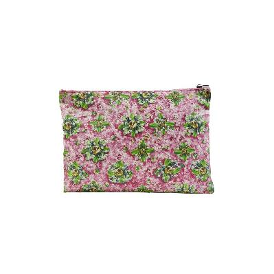 flower pattern clutch bag